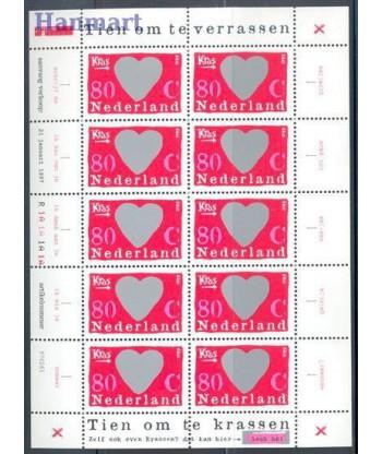Holandia 1997 Mi ark1607 Czyste **