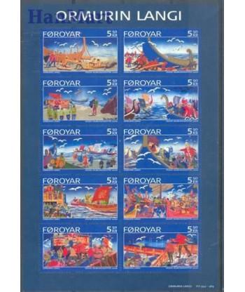 Wyspy Owcze 2006 Mi 562-571 Czyste **