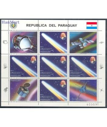 Paragwaj 1986 Mi ark 3974 Czyste **