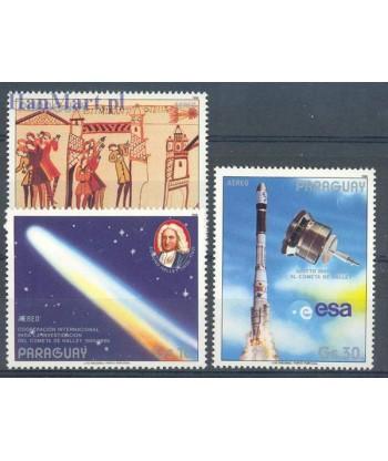 Paragwaj 1986 Mi 3973-3975 Czyste **