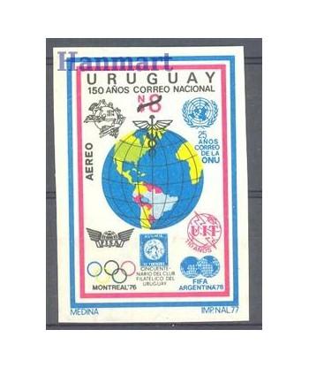 Urugwaj 1977 Mi exp 1465 Czyste **