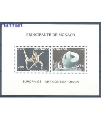 Monako 1993 Mi 2120-2121 Czyste **