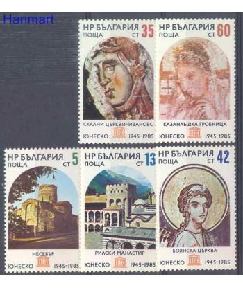 Bułgaria 1985 Mi 3394-3398 Czyste **