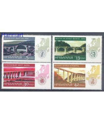Bułgaria 1984 Mi 3296-3299 Czyste **