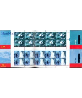Islandia 2001 Mi 981-982 Czyste **