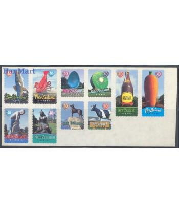 Nowa Zelandia 1998 Mi 1719-1728 Czyste **