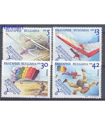 Bułgaria 1989 Mi 3801-3804 Czyste **
