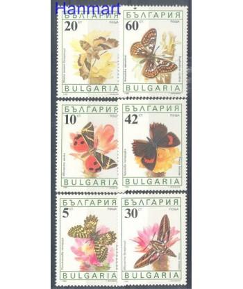 Bułgaria 1990 Mi 3852-3857 Czyste **