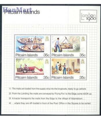 Pitcairn 1980 Mi bl 6 Czyste **