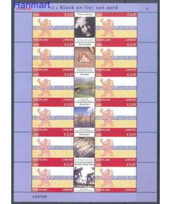 Holandia 2002 Mi ark2026 Czyste **