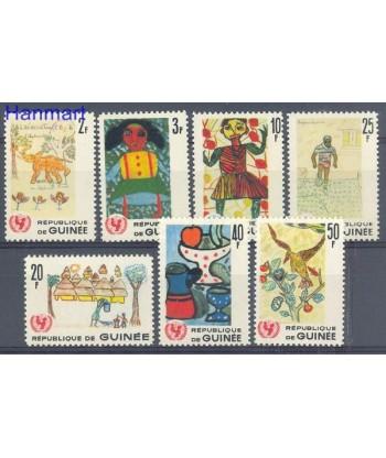 Gwinea 1966 Mi 402-408 Czyste **