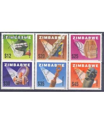 Zimbabwe 2002 Mi 722-727 Czyste **