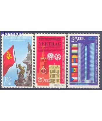 Niemiecka Republika Demokratyczna / DDR 1970 Mi 1569-1571 Czyste **