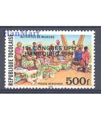 Togo 1984 Mi 1671 Czyste **