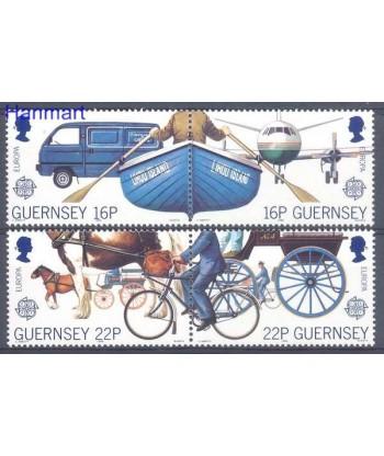 Guernsey 1988 Mi 417-420 Czyste **