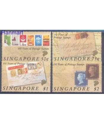 Singapur 1990 Mi 594-597 Czyste **