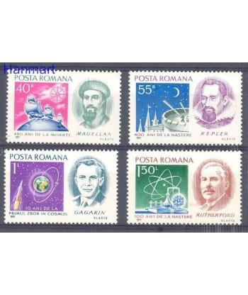Rumunia 1971 Mi 3001-3004 Czyste **