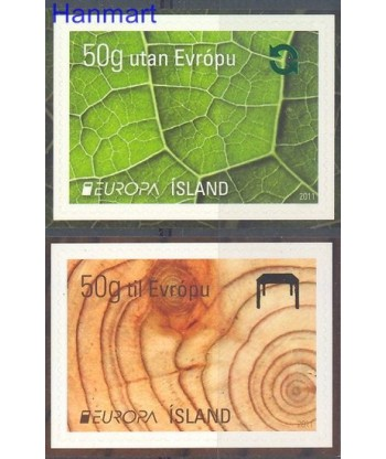 Islandia 2011 Mi 1306-1307 Czyste **