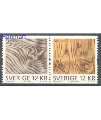Szwecja 2011 Mi 2812-2813 Czyste **
