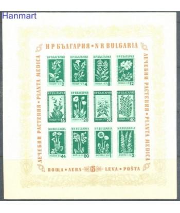 Bułgaria 1953 Mi bl 4 Czyste **