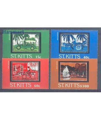 Saint Kitts 1985 Mi 156-159 Czyste **