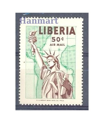 Liberia 1956 Mi 497 Czyste **