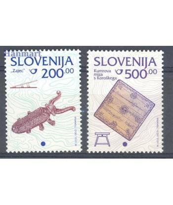 Słowenia 1998 Mi 245-246 Czyste **