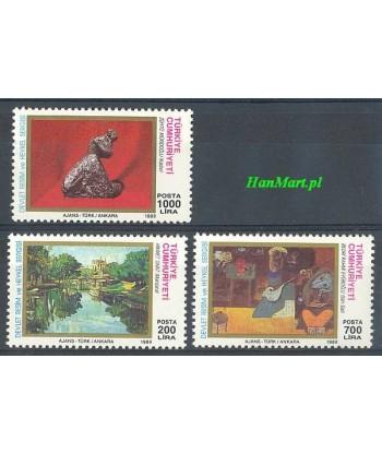 Turcja 1989 Mi 2867-2869 Czyste **