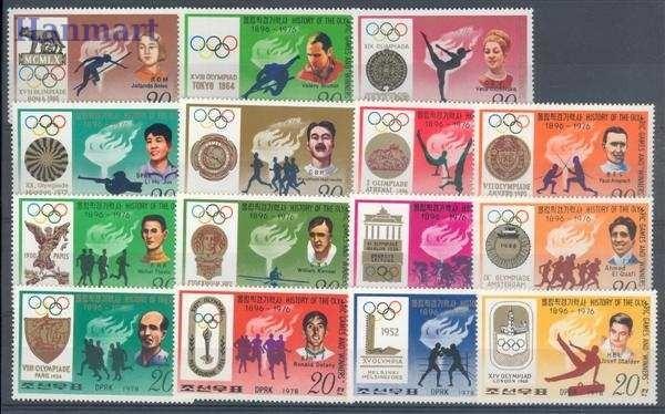 South Korea 1978 Mi 1760-1774 MNH