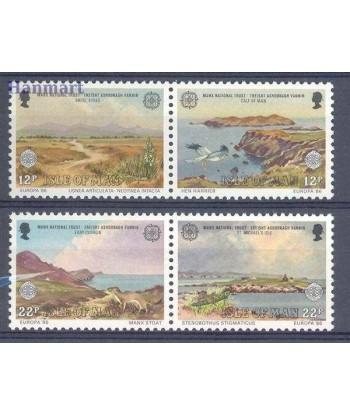Wyspa Man 1986 Mi 307-310 Czyste **