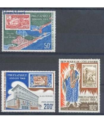 Wybrzeże Kości Słoniowej 1969 Mi 340-342 Czyste **