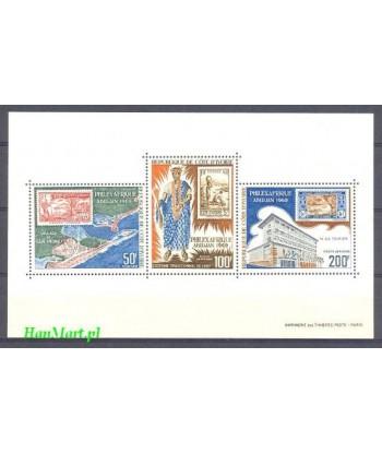 Wybrzeże Kości Słoniowej 1969 Mi bl 4 Czyste **