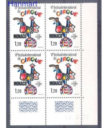 Monako 1979 Mi vie 1395 Czyste **