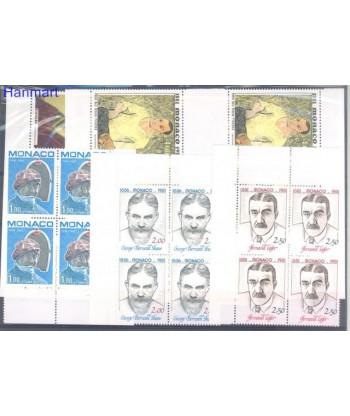Monako 1981 Mi 1491-1495 Czyste **