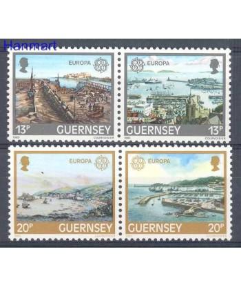 Guernsey 1983 Mi 265-268 Czyste **