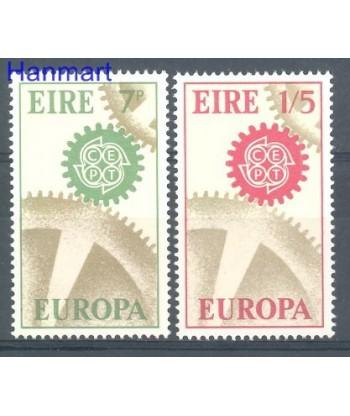 Irlandia 1967 Mi 192-193 Czyste **