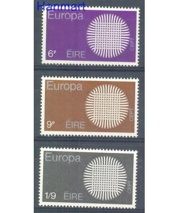 Irlandia 1970 Mi 239-241 Czyste **