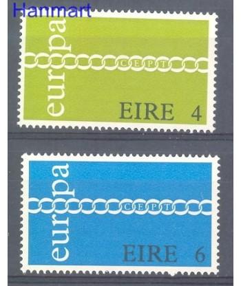 Irlandia 1971 Mi 265-266 Czyste **
