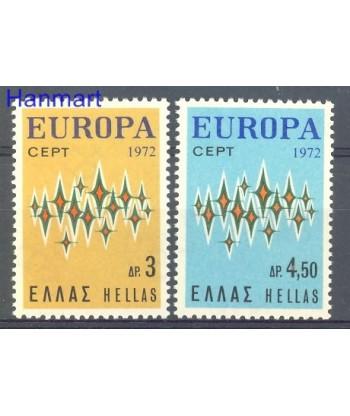 Grecja 1972 Mi 1106-1107 Czyste **