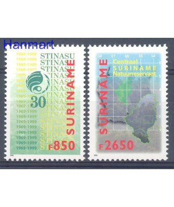 Surinam 1999 Mi 1703-1704 Czyste **