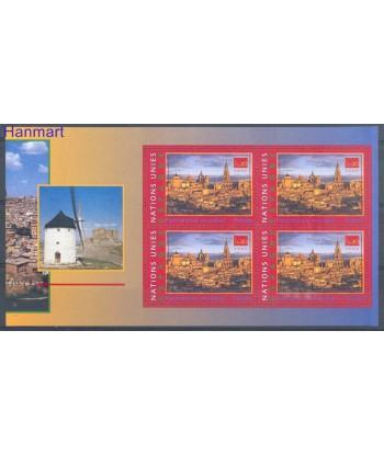 Narody Zjednoczone Genewa 2000 Mi blatt 26 Czyste **
