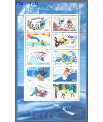 Francja 2004 Mi 3839-3848 Czyste **