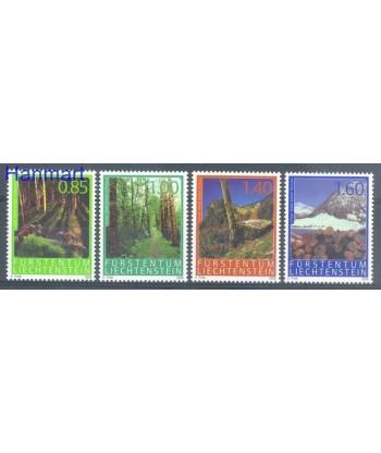 Liechtenstein 2009 Mi 1518-1521 Czyste **