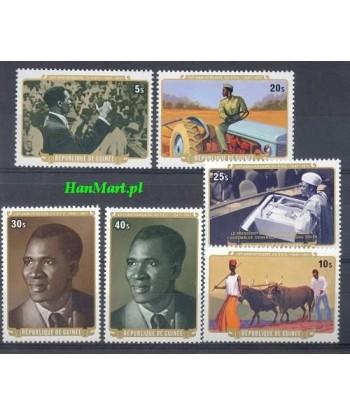 Gwinea 1977 Mi 776-781 Czyste **