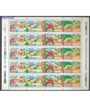Brazylia 1992 Mi 2479-2482 Czyste **