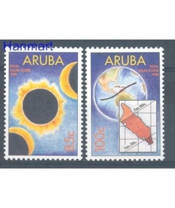 Aruba 1998 Mi 217-218 Czyste **