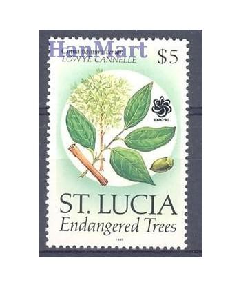 Saint Lucia 1990 Mi 981 Czyste **
