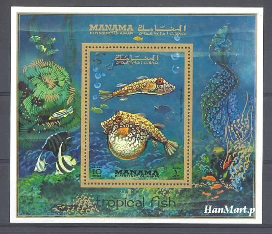 Manama 1971 Mi bl 156 MNH