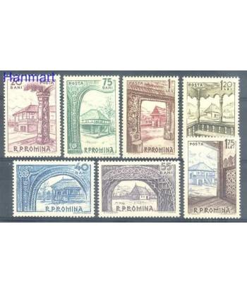 Rumunia 1963 Mi 2222-2228 Czyste **