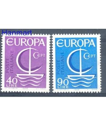 Włochy 1966 Mi 1215-1216 Czyste **